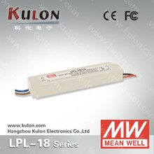 Mean Well Constant Voltage LED Driver 36v LPL-18-36 18w