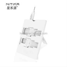 Nano SIM Card to Micro Standard Adapter Adaptor Converter Set with sim card needle