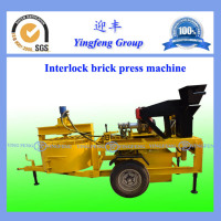 With ISO certificated polular in Asia compressed earth blocks making machine