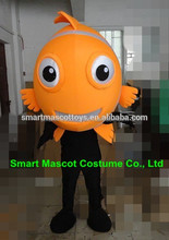 Easy wear venta caliente <span class=keywords><strong>adultos</strong></span> clown fish clown fish mascot mascot costume con buena ventilación <span class=keywords><strong>adultos</strong></span>