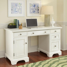 Cheap white solid wood writing desk home computer desk