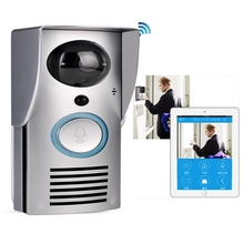 Multi apartments DC 5V wifi 3G 4G ip video door phone with dingdong bell