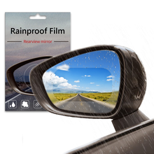 Rearview Mirror Film For Car Accessories Rainproof Screen Protector For Car And Motorcycle RearView