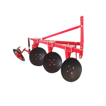 Diagram of disc plough for tractor