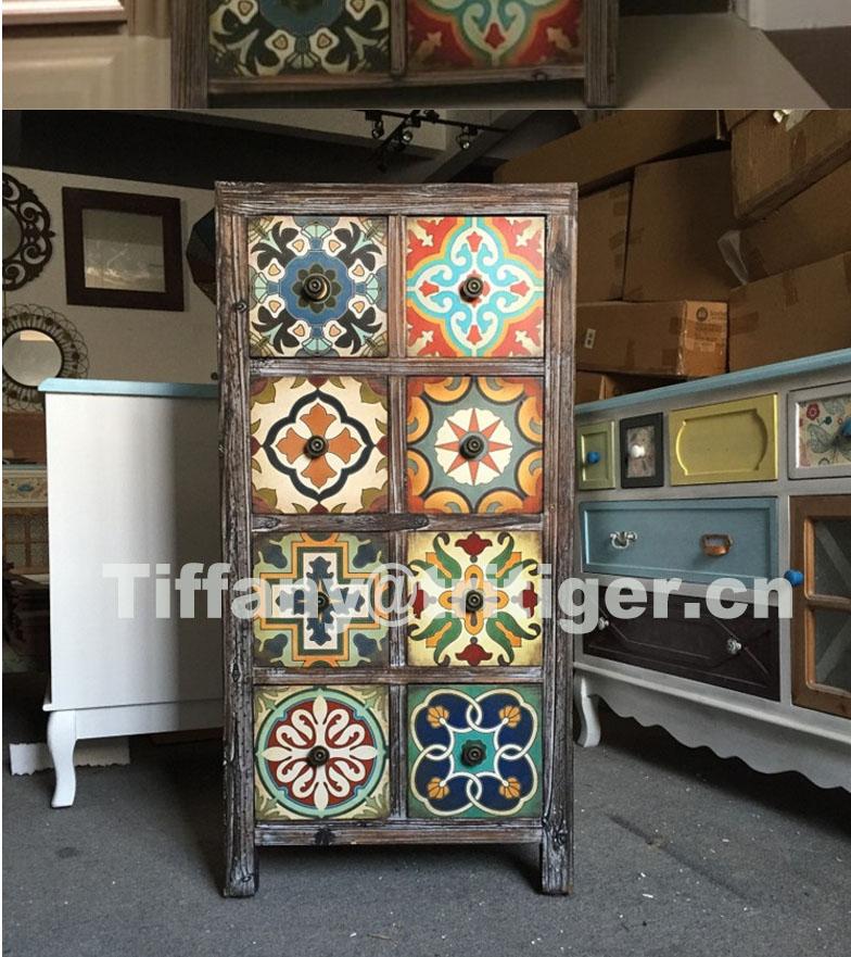 Muebles para el hogar de madera maciza aparador gabinetes for Gabinete de almacenamiento para el dormitorio