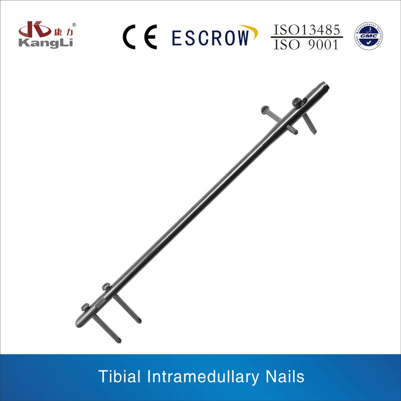 Tibial Intramedullary Nails interlocking trauma implant orthopaedic instrument