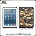 Army style for ipad military leather case, new for ipad 2017 shockproof case