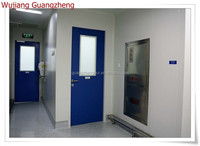 high quality color coated steel clean room door