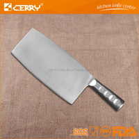 OEM Professional kitchen knife of chopper with hollow handle