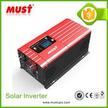MUST LCD LED Optional 6KW Power 3HP Pump Solar MPPT Pump Inverter