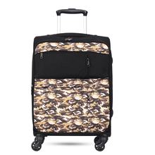 Super lightweight world lightest 4 wheel suitcase trolley spinner cases 360 degree luggage