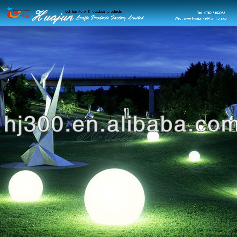 outdoor ball lighting/garden led decoration furniture balls