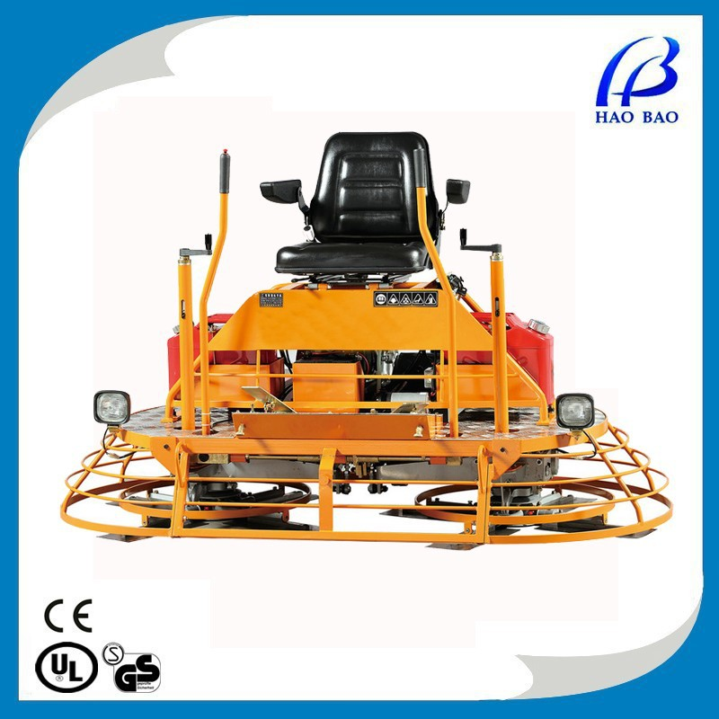 HXM802C HOT SALE !CONCRETE RIDE ON POWER TROWEL WITH HONDA ENGINE GX690 AND CE CERTIFICATE