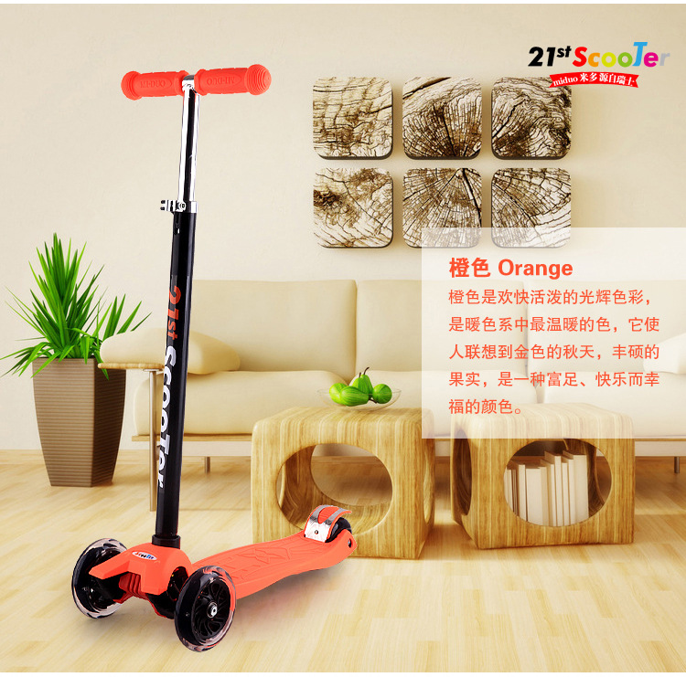 new design hot sale factory price 3 wheels safety outdoor tool kids scooter exercise good gift choice kick scooters
