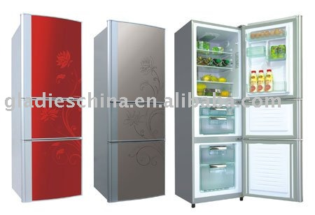 196L Multi-Door bottom freezer Refrigerator with CE/CB/CCC