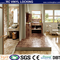 Solid Wood flooring Material and Solid Wood flooring Panel Surface Treatment wood flooring tiles and wall tile 300 * 600mm