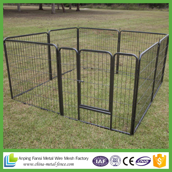 Custom made dog cage stainless steel