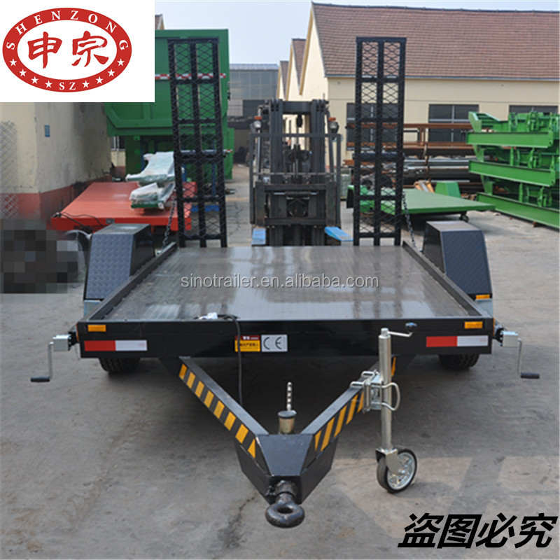 enclosed carrier car towing trailer manufacturers galvanized for sale