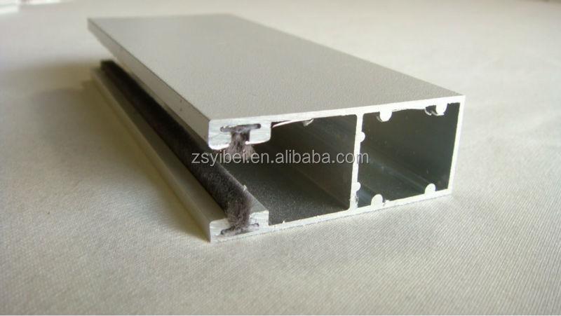 Roller Shutter components Aluminum Guide Rail aluminum windows profile