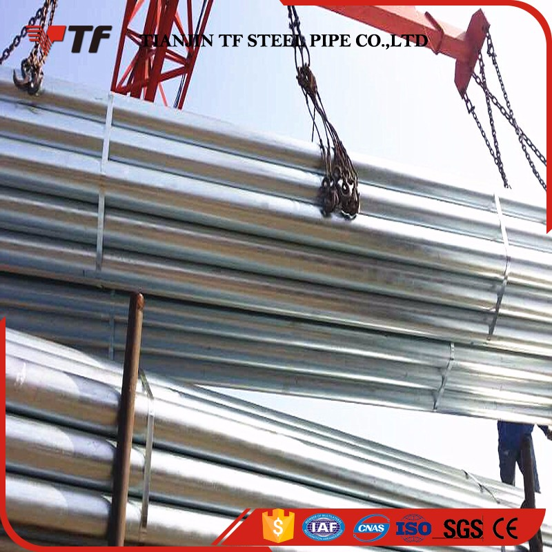 Manufacturer Direct factory schedule 20 galvanized steel pipe