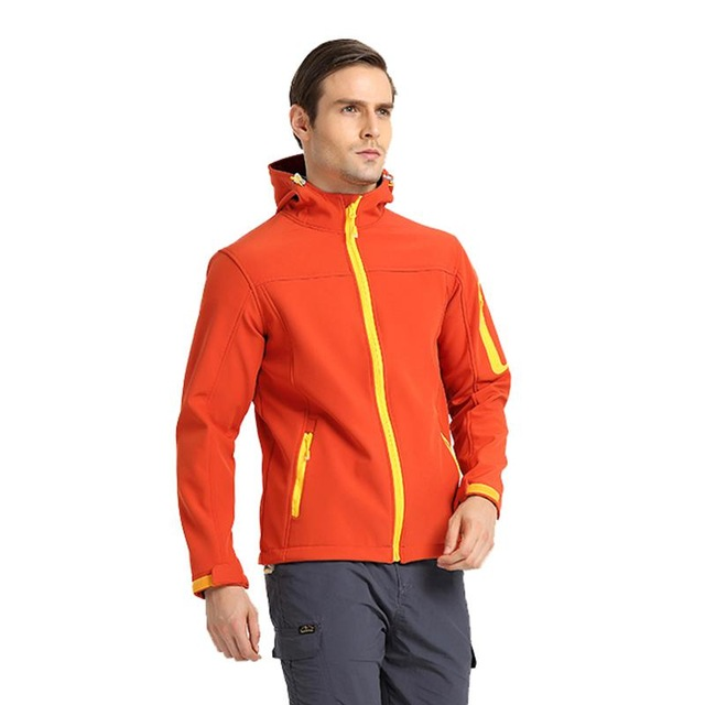 Outdoor Hiking Trekking Coat Camping Male Fishing Climbing Softshell Mens Sports Jacket