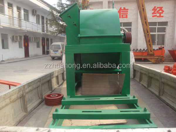 HUAHONG wood pallet shredder/wood crusher/sawdust making equipment for hot sale
