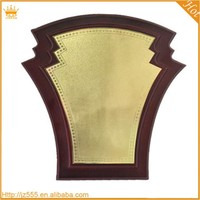 Fashion Shape blanks for wood carving plaque