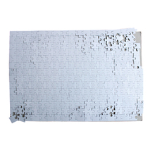 Hot sale!!! blank sublimation A4 size glossy puzzle