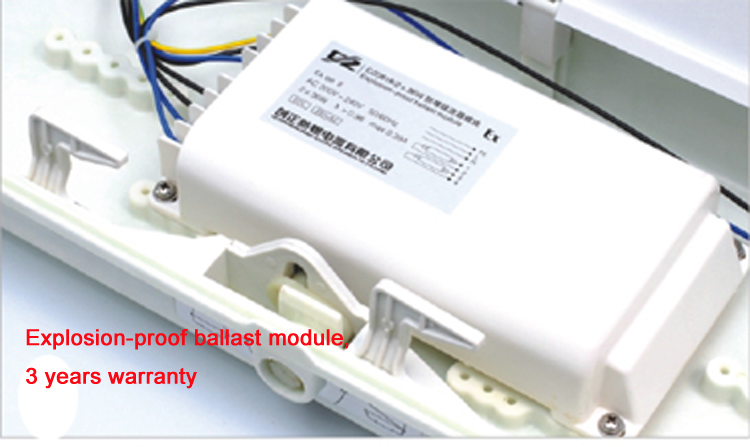 Hot Sales Full plastic explosion-proof fluorescent light fittings