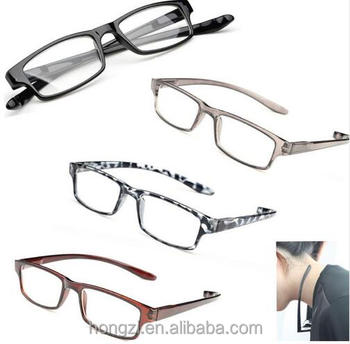 Fashion Halter Ultralight Reading Glasses Men And Women Anti-fatigue HD Resin Lens Reading Glasses +1