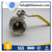 FM China forged brass ball valve high quality water media ball valve