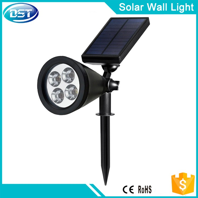 cheap garden led solar lawn light with ground spike CE RoHS