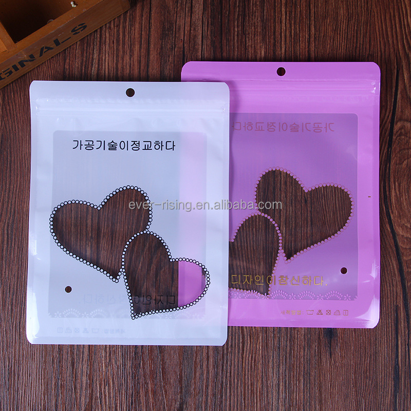 Decoration plastic photo printing OPP packing bag
