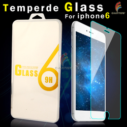 9H Hardness anti explosion anti-glare clear crystal for tempered glass screen protector Iphone 6 plus (OEM/ODM)