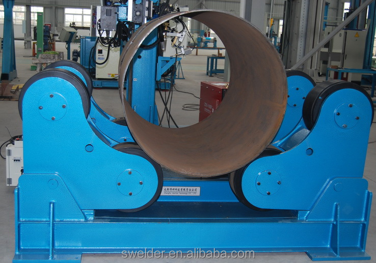 Welding auxiliary- turning rollers