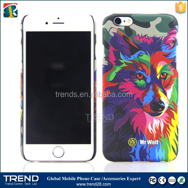 series seven colorful custom pc hard case for iphone 6 plus