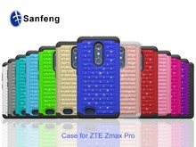Crystal Case For ZTE Max pro, For ZTE Z981 Hard PC Case Cover, High impact Silicon Case For ZTE Carry