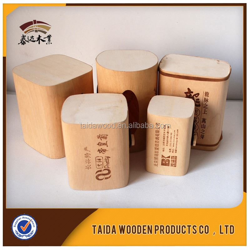 Weddings Decoration Tea Gift Box Wood