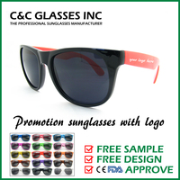 Promotion sunglasses with logo