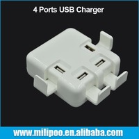 Wholesale High Quality 4 Ports 6A Multi USB Travel Charger For Cellphone and Pad
