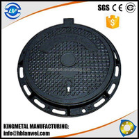 square and round ductile iron cast manhole cover with High quality
