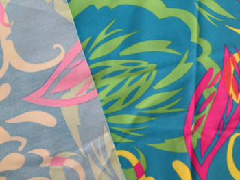 Polyester and Spandex Plain Cloth Knitting Fabric Printed