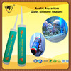 Factory Price Good Quality Acetoxy Aquarium Glass Silicone Adhesive Glue