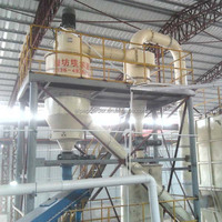 Vertical classifying wheel Air classifier hydrocyclone separator