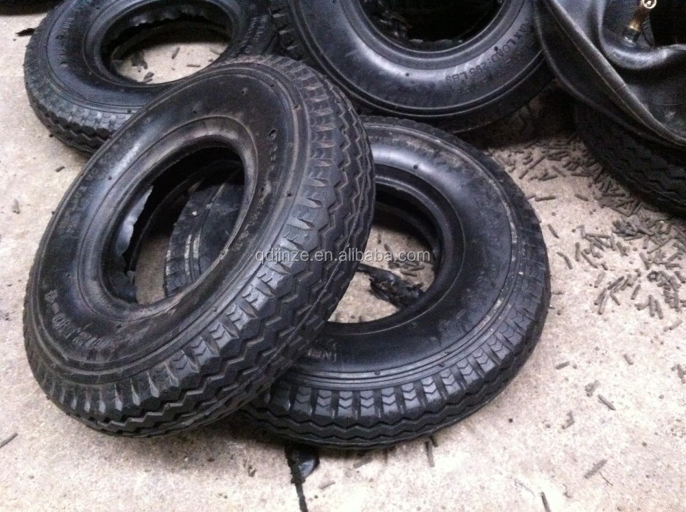 13x 4.00-6 rubber wheels ,tires for hand trolley