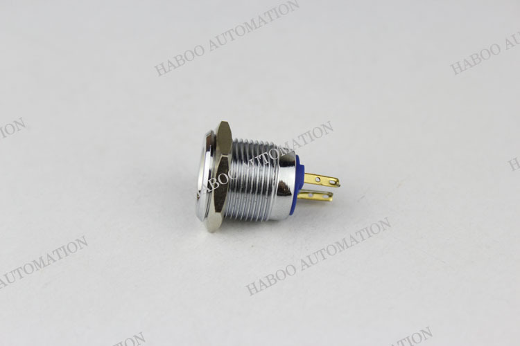 16mm metal led indicator light stainless steal indicator switch water level indicator 250V 3A