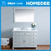 Homedee french style bathroom vanity,Mirrored Cabinets Type modern bathroom vanity