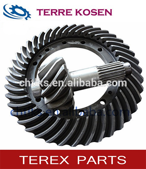 differential gear set for terex 3307 9228704