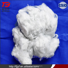 100% pet flakes non woven fabric use polyester fiber raw white with low price