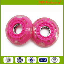 Wholesale solid inline skate rubber wheel 60mm